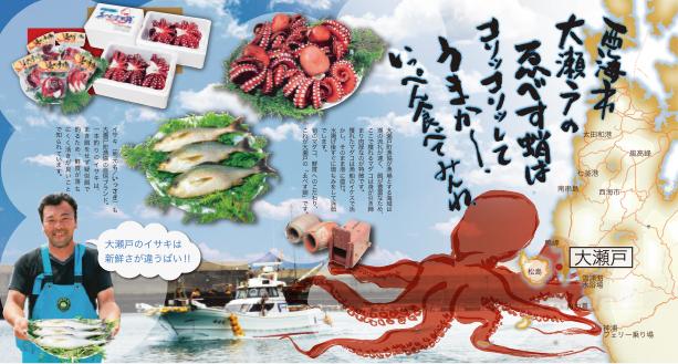 大瀬戸町町漁業協同組合/ゑべす蛸パンフレット